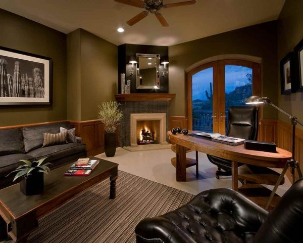 Awesome Luxury Home Offices Design Ideas