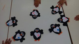 Manualidades Yolohago: Pingüinos de goma eva