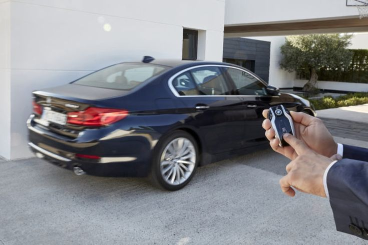 The new 5-Series will inherit the interactive key with display from 7-Series.