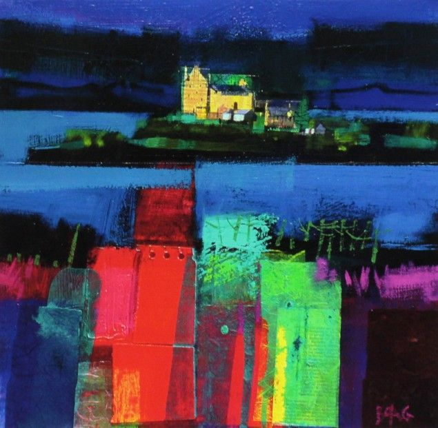 Francis Boag, Duart Castle Mull, Signed Limited Edition Print Giclee | Scottish Contemporary Art