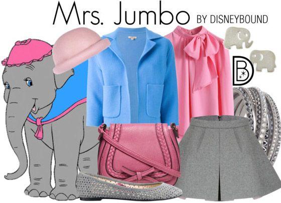 Disney Bounding - Mrs. Jumbo