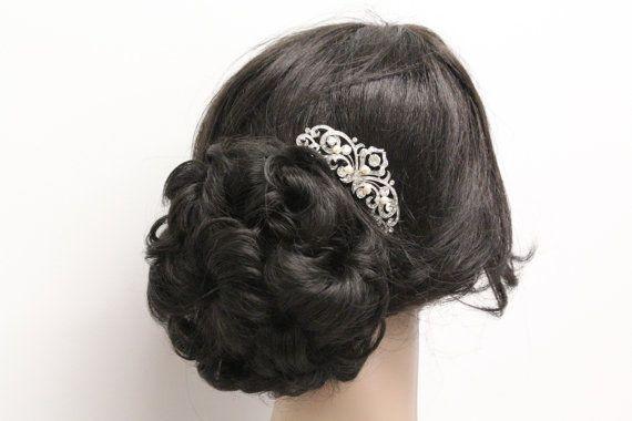 Cheveux de mariée accessoires vintage pearl peigne mariée peigne pearl postiche accessoire de cheveux de mariage mariée peigne Bijoux mariage