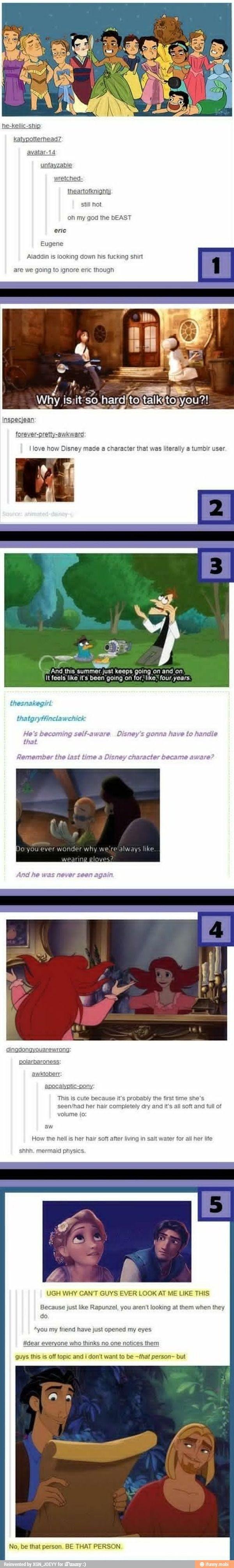 Disney funnies