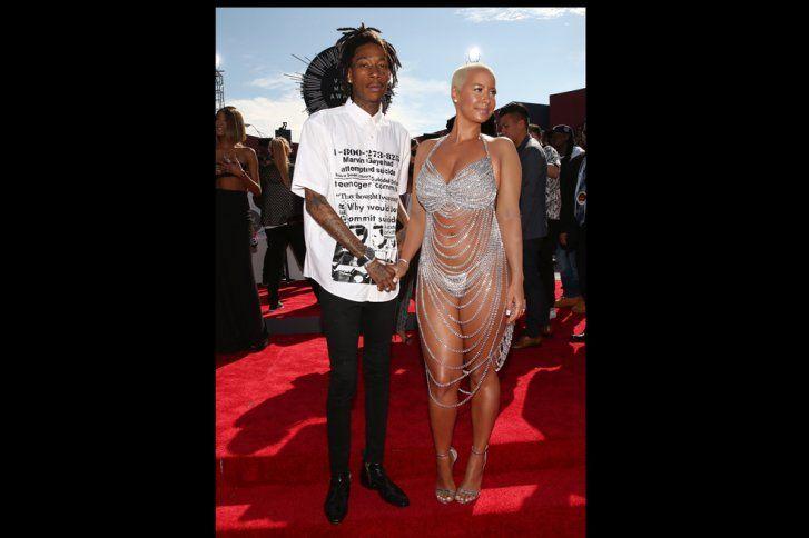 Wiz Khalifa Y Amber Rose.