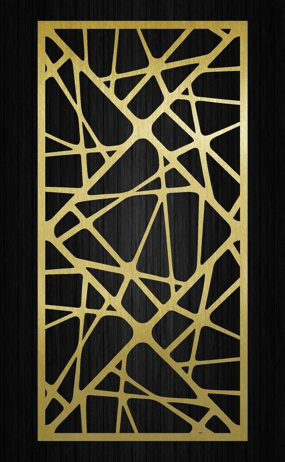 Decorative Ornamental Art Panel Dxf Svg Ai Eps Room Etsy Decorative Screens Decorative Screen Panels Panel Art