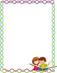 bordes decorativos para niños