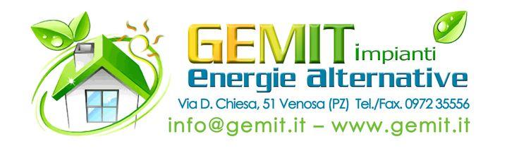 CLIENTE: Gemit Energie Alternative - logo
