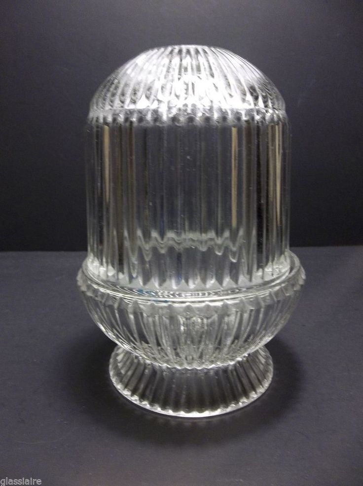 Vintage Crystal Clear Glass Fairy Lamp Glimmer Light 6 5