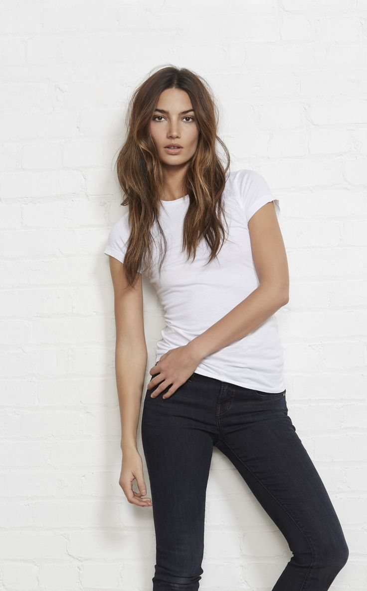 Velvet by Graham & Spencer ::Gauzy Whisper ::Crew Neck Tee::Super Soft Cotton