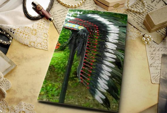 TOTAL SALE Long Length Native American inspired Headdress