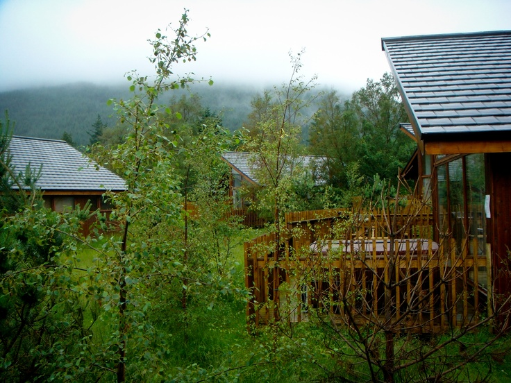 Forest holiday cabin - Argyll, Scotland
