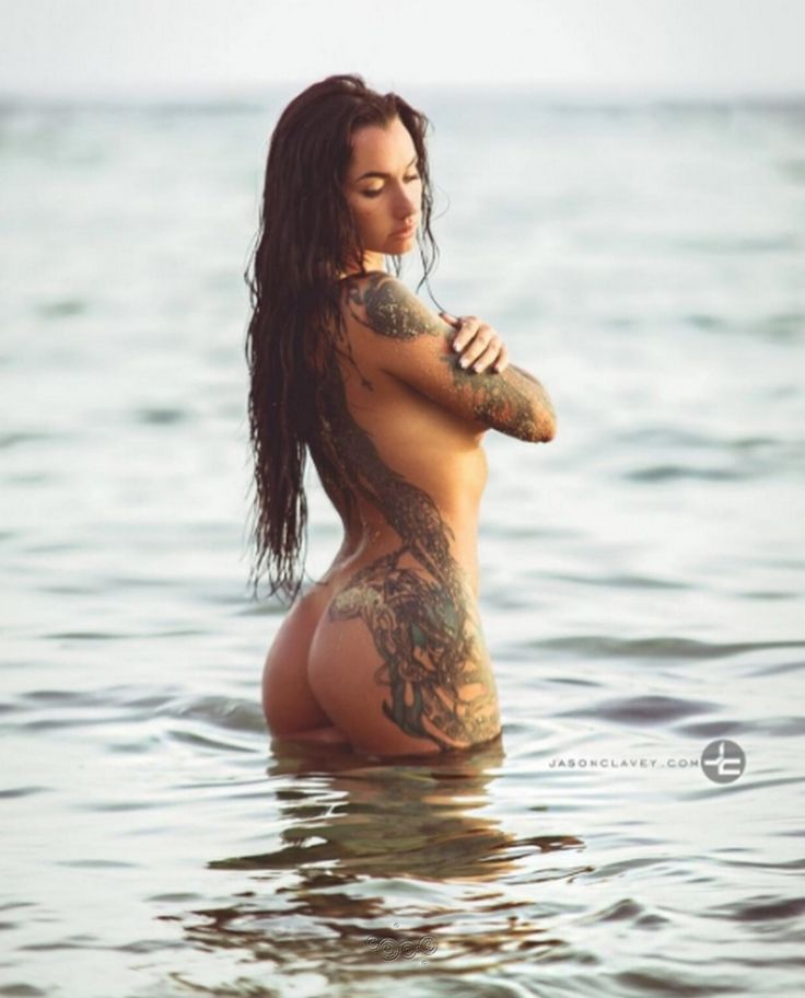 SENSUAL INKED MERMAID WITH PERFECT BUTT - Sexy Tattooed #Fitness model Angelica Anderson: Health, Exercise & #Fitspo - the best #Inspirational & #Motivational Pins by: http://cagecult.com/mma