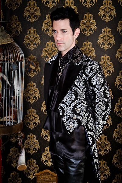 Victorian Tailcoat by Shrine Clothing Goth Steampunk Mens | http://menclothingapparel.13faqs.com