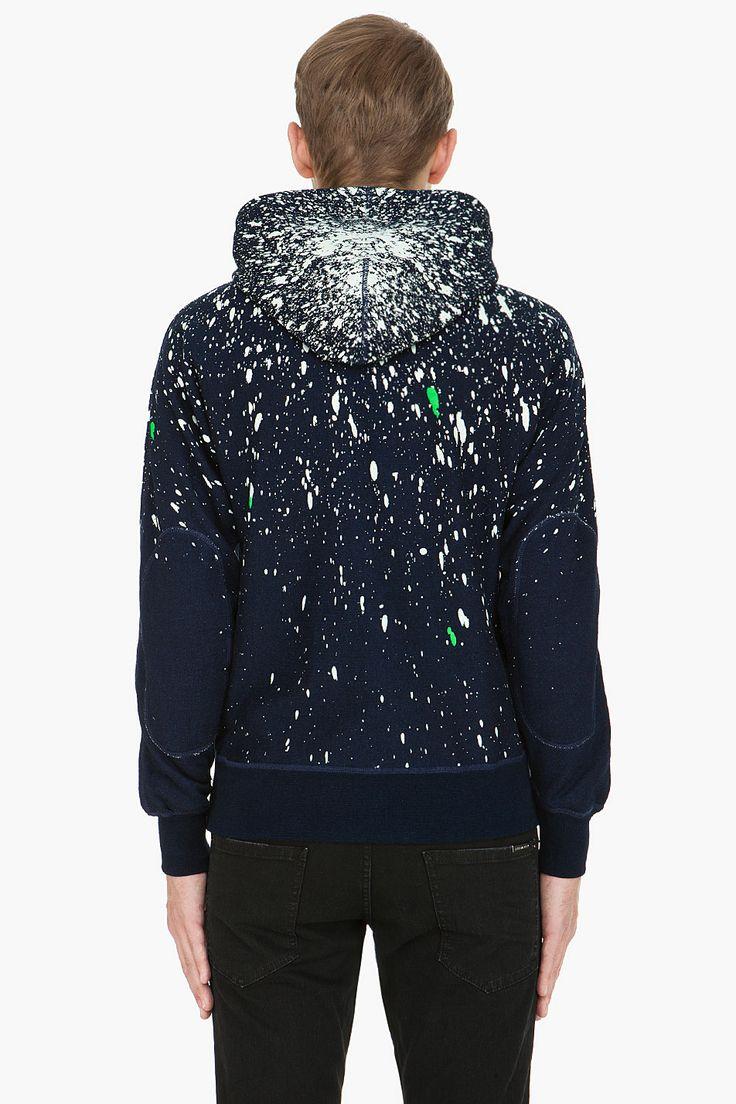 G-STAR indigo Marc Newson Painter Sweater