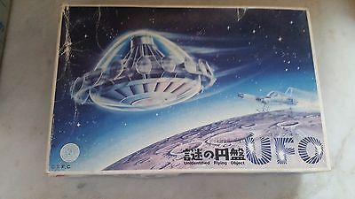 UFO : UNIDENTIFIED FLYING OBJECT MODEL KIT MADE BY BANDAI JAPAN VERY RARE 1980S