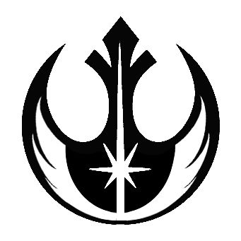 Jedi Rebel Symbol | Jedi Counsel | Rebel Alliance | Star Wars | Darth Vader | Stormtrooper | Luke | Leia | Skywalker | BB8 | R2D2 | C3PO