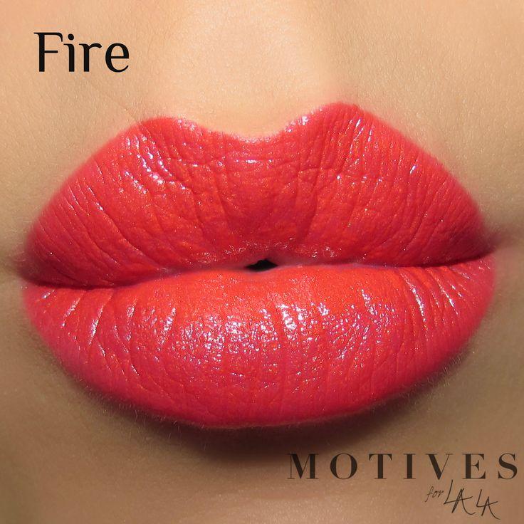 Motives® for La La Mineral Lipstick in Fire