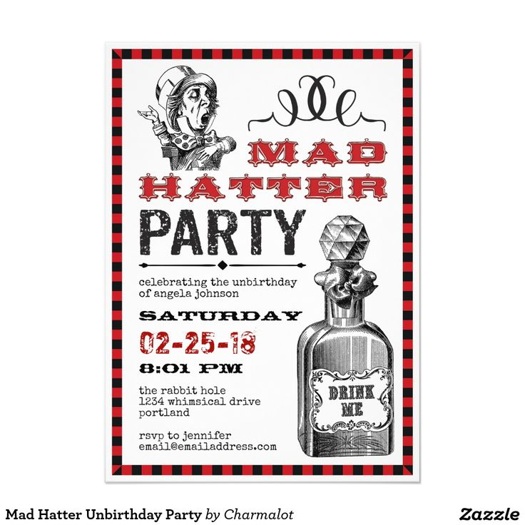 379 best Adult Birthday Invitations images on Pinterest ...