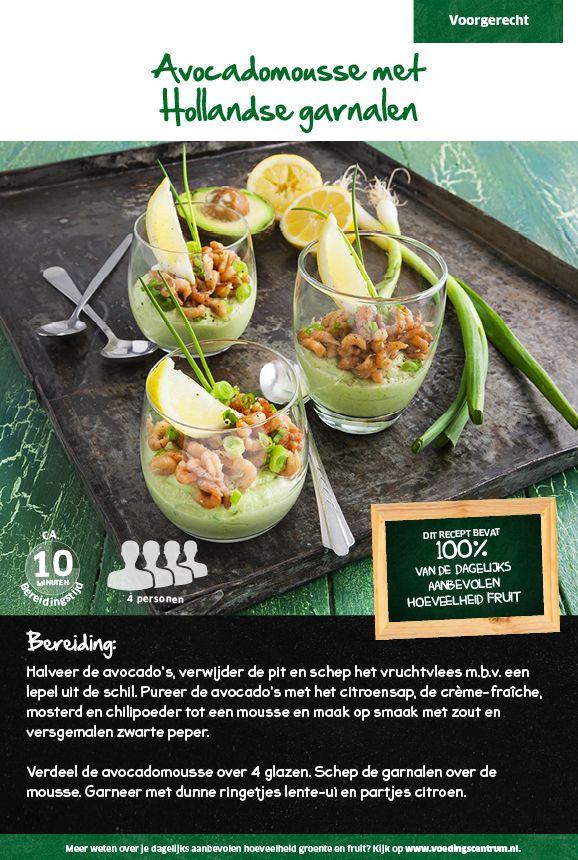 Avocadomousse met Hollandse garnalen - Lidl Nederland