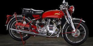 Bonhams : 1946 Ariel 347CC RED HUNTER NG Frame no. AP2174 Engine no. BK1132