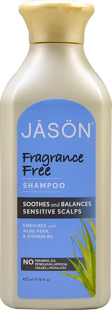 Jason Shampoo Fragrance Free