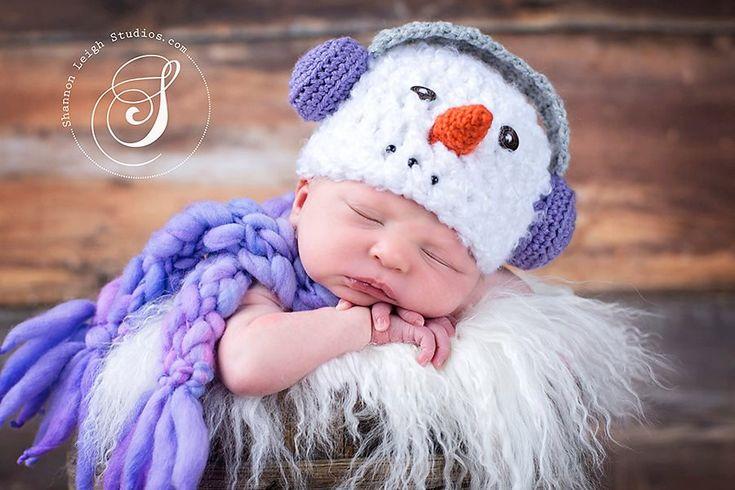 Download Pdf Crochet Patterns 048 Snowman With Earmuffs