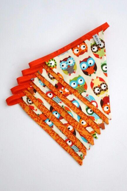 Owl Bunting - £15.00