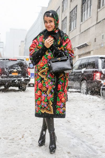 Miroslava Duma | New York Fashion Week AW 2014 | Team Peter Stigter