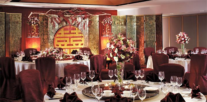 Wedding venue of Shangri-La's Far Eastern Plaza Hotel, Tainan.