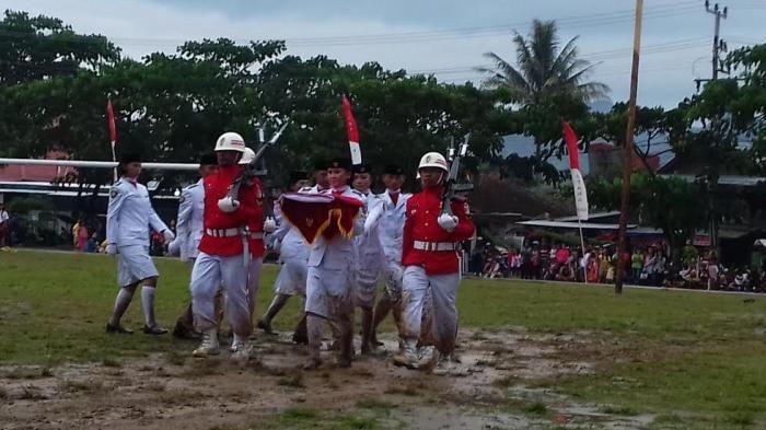 Paskibra Toraja Utara - Kisah Paskibra Bermandikan Lumpur Hingga Tradisi Kematian yang Mengharukan