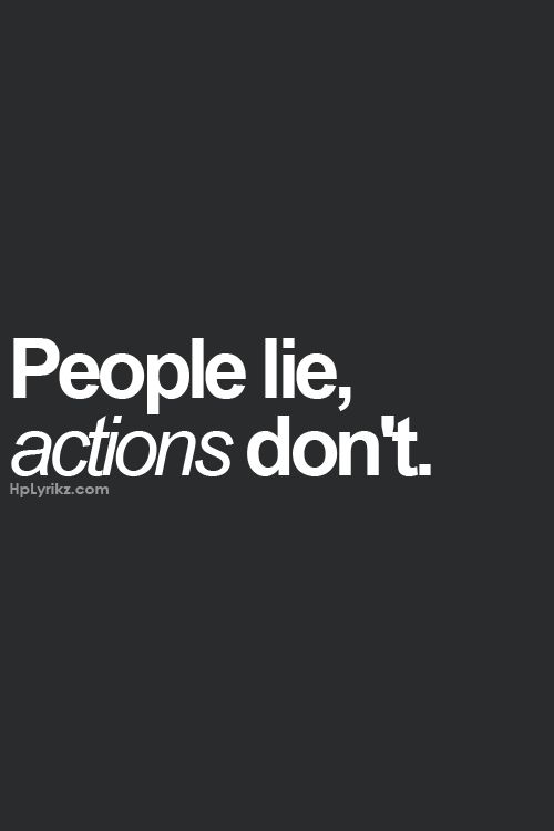 Yeah that's why I can't believe till actions are made