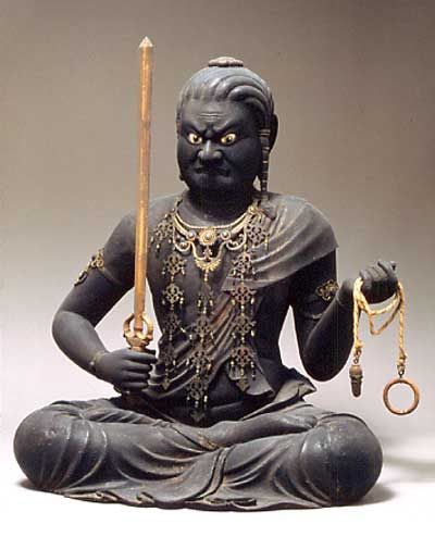 The Bodhisattva, Fudo Myoto, A healer, but also assuming the role of a wrathful deva