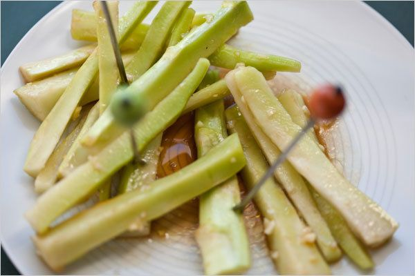 Pickled Broccoli Stems by Martha Rose Shulman