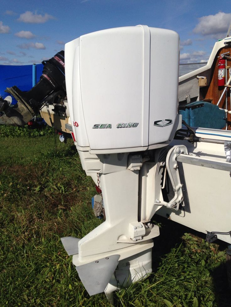 25 Hp Evinrude For Sale >> Sea King 80 (badged West Bend) - circa 1962-65 - never seen one before | Boat engines ...
