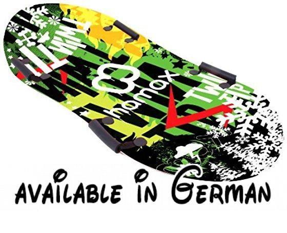 Hamax Schlitten & Rodel - Bobs Twin-tip Surfer, design, 550035. Qualität. Material HDPE, bleibt auch bei tiefen Temperaturen flexibel. Modernes Design. Fahreigenschaften. Spaßfaktor #Sports #SPORTING_GOODS