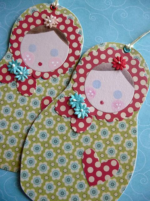 Russian Doll Paper Tag   Flickr - Photo Sharing!
