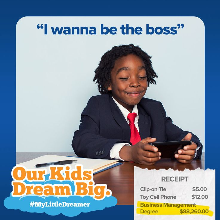This little dreamer wants to start his own company. Do you have a business savvy little one too? Visit HeritageRESP.com/MyLittleDreamer for more info! #mylittledreamer