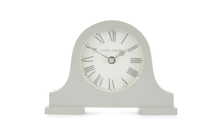 Holborn Dove Grey Clock at Laura Ashley