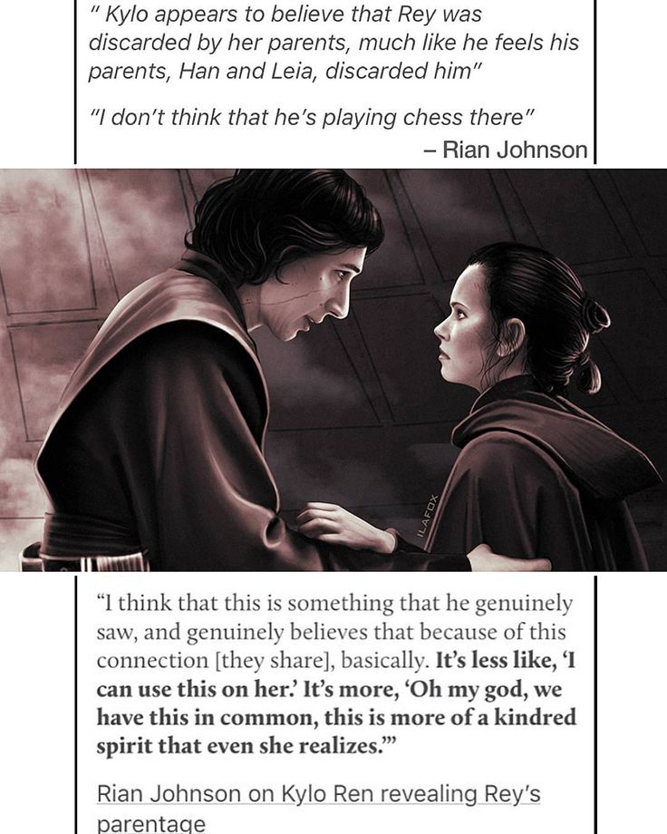 "536 Likes, 4 Comments - In a galaxy far far away... (@porgfactory) on Instagram: ""✔After TLJ,Director Rian Johnson explained the fact that Kylo was not lying abt Rey's lineage.Many…"""