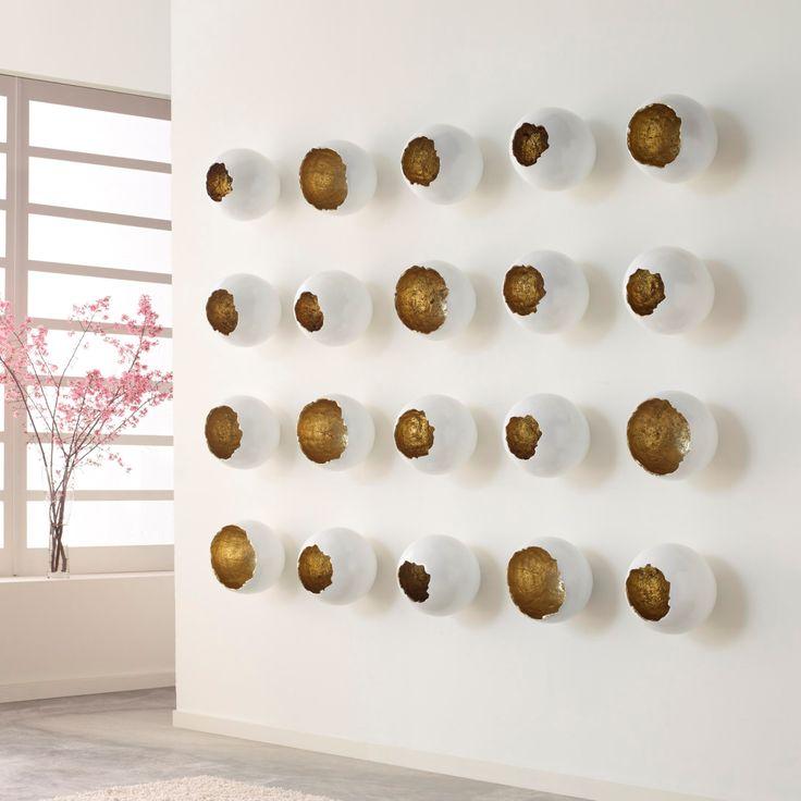 Broken Eggs Wall Sculptures by @designerdann for @Phillipsco #brokeneggs