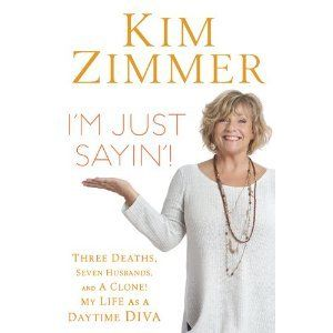 """Happy Birthday to """"Guiding Light"""" actress Kim Zimmer! 2011 VIDEO INTERVIEW by Bob Andelman  KIM ZIMMER podcast excerpt: """"It wasn't like I was falling down drunk when I went back to Guiding Light after lunch. I had just numbed myself with a couple glasses of wine so I didn't freak out on people. It put me in a place where I was able to handle my disappointments a lot better... It was unprofessional... I guess... but I was never sloppy drunk when I was doing my work. By the time I got ..."""