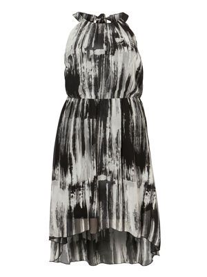 FLUID HIGH LOW DRESS #dress #party #junarose @David Rose