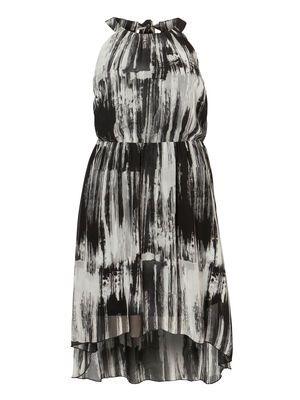FLUID HIGH LOW DRESS #dress #party #junarose @David Rose