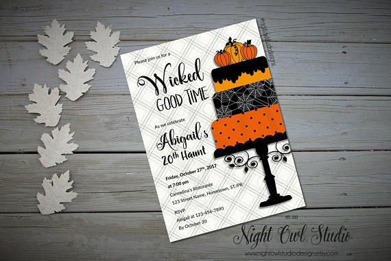 Hey, I found this really awesome Etsy listing at https://www.etsy.com/ca/listing/538845418/halloween-party-invitation-halloween