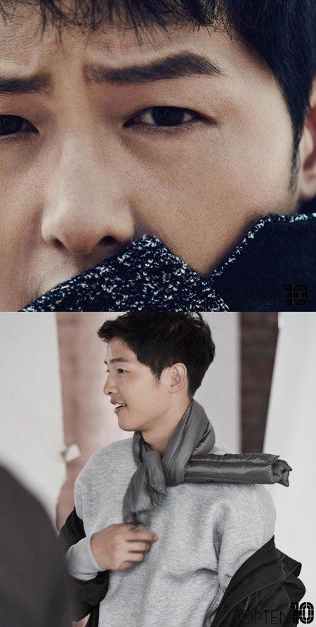 Song Joong Ki looks absolutely gorgeous in these b-cuts from 'TOPTEN10' photo shoot   allkpop.com