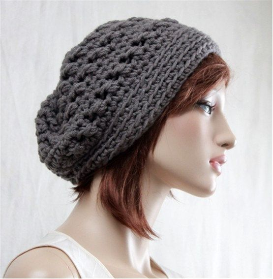 Check out this item in my Etsy shop https://www.etsy.com/listing/261938462/slouchy-hat-winter-grey-hat-boho-chic