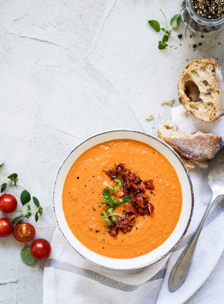 Täyteläinen tomaattikeitto | K-Ruoka #kasvikset