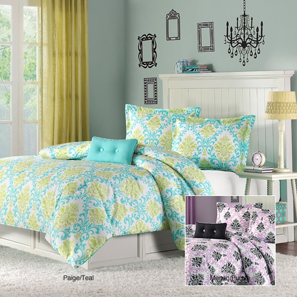Paige /Megan Twin/XL 3-piece Comforter Set   Overstock.com