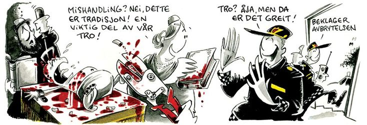 Norwegian Newspaper Dagbladet Sparks Outrage with 'Blood Libel' Cartoon