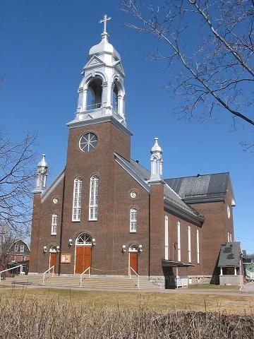 Ottawa (église Saint-Charles-Borromée), Ontario, Canada (45.441151, -75.673088)